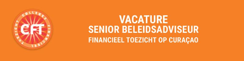 Vacature Cft senior beleidsadviseur financieel toezicht